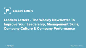 Focus Leaders Letter Newsletter