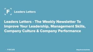 Focus Leaders Letter Newsletter