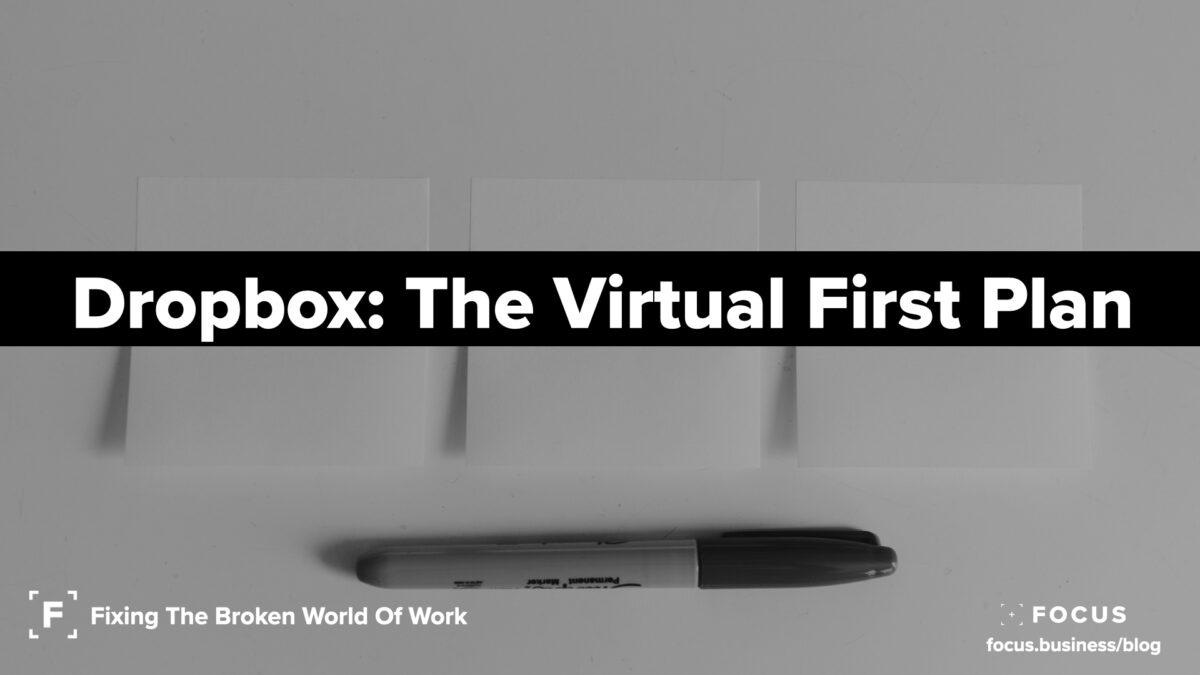 Dropbox The Virtual First Plan