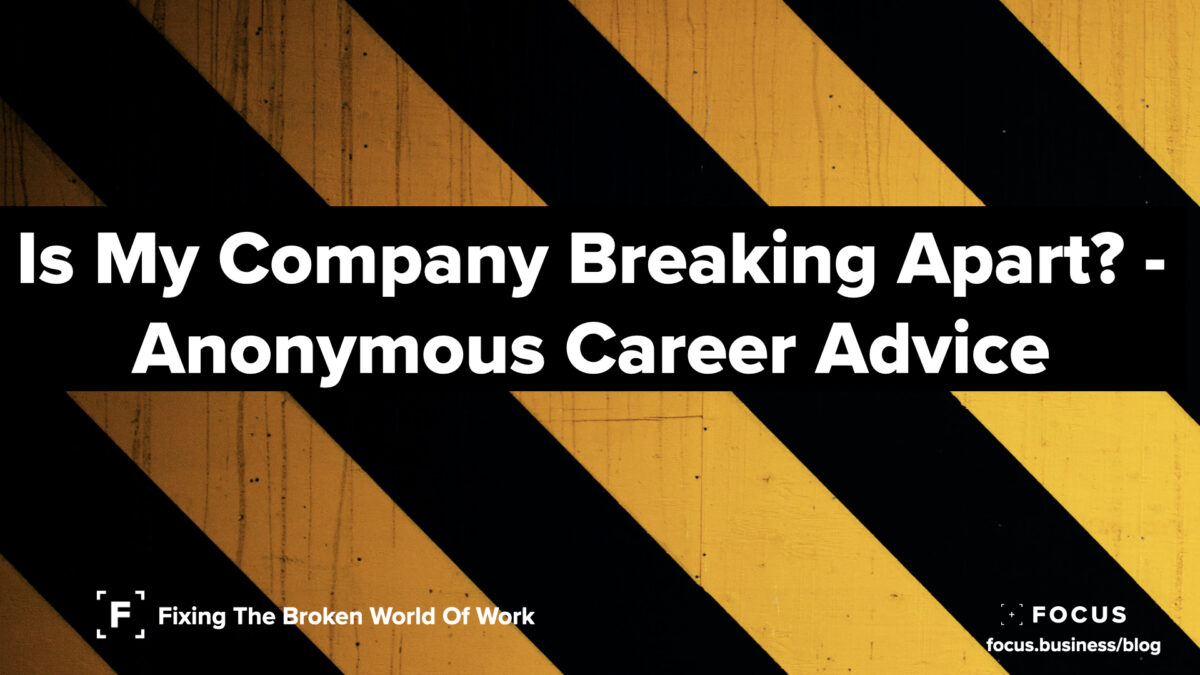 Is My Company Breaking Apart?