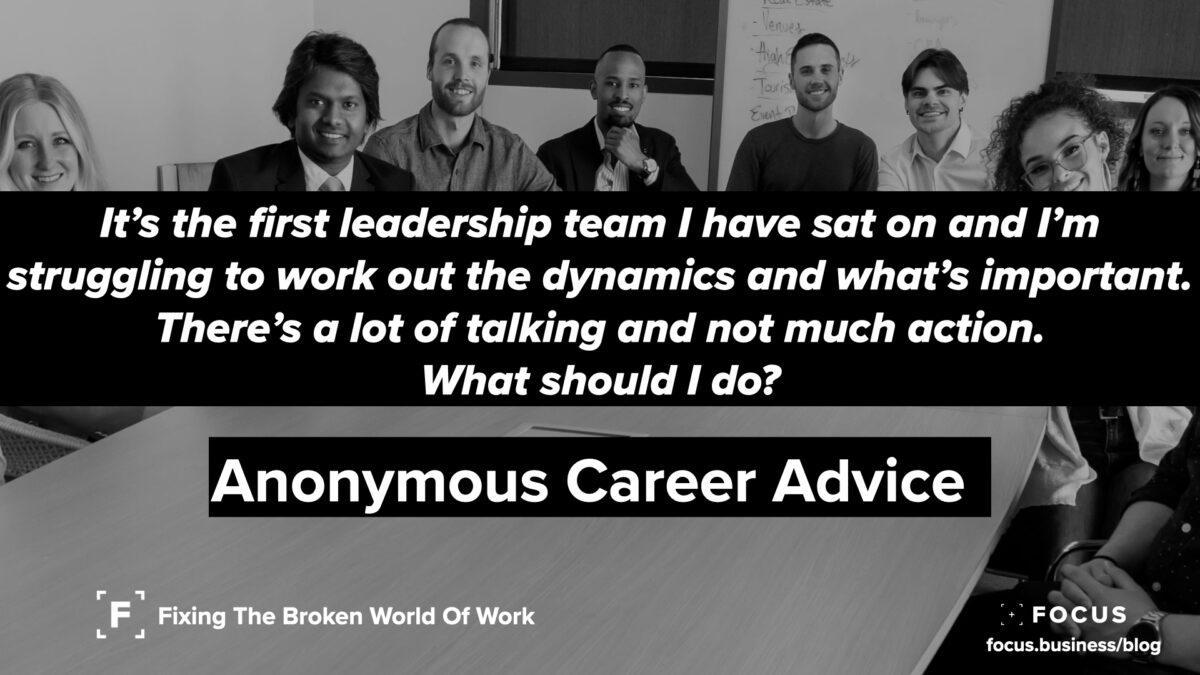leadership team woes
