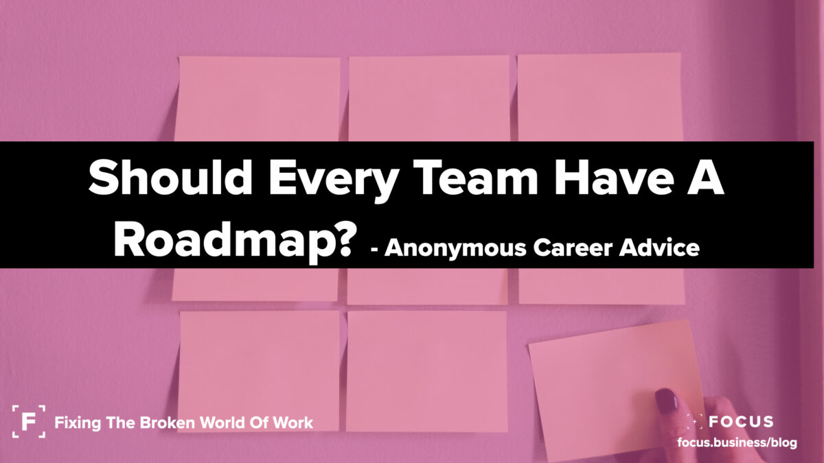 Should Every Team Have A Roadmap?